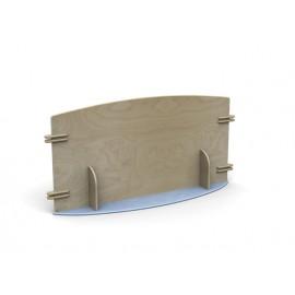 Pannello divisorio Minilinea con snodi e giunzioni in vari modelli e dimensioni