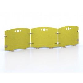 Pannello divisorio Arco a giunzioni per unire pareti divisorie più dimensioni by TANGRAM di 2H arredi per asilo