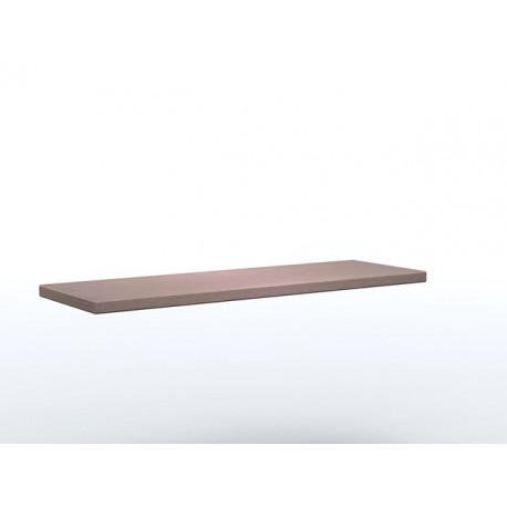 Mensola Dritta lineare in legno multistrato in due dimensioni by TANGRAM di 2H arredi per asilo