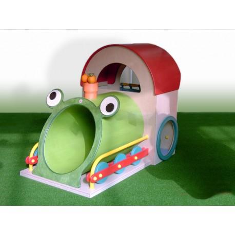 I giochi di ruolo tematico Ciuffy Primipassi tunnel corrimano laterali e tana by TANGRAM di 2H arredi per asilo
