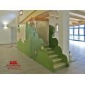 La Casa di Giulietta Struttura gioco polifunzionale in legno multistrato