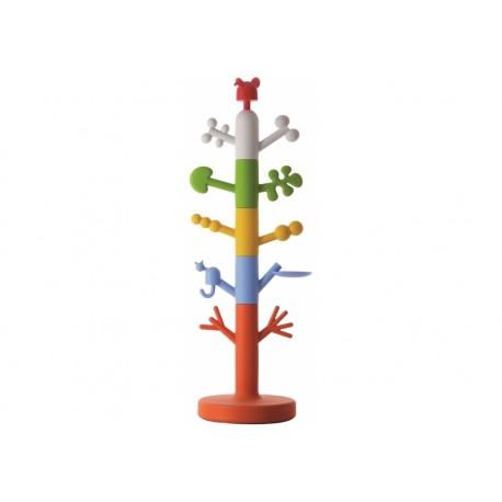 Appendiabiti Tree componibile struttura in acciaio e rivestito in polietilene by TANGRAM di 2H arredi per asilo