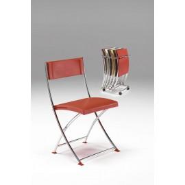 Carrello Lem per sedia pieghevole capacità n 6 sedie 40 x 56 x 97 cm