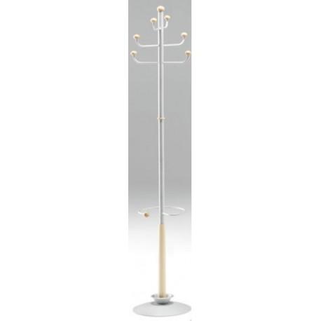 Appendiabiti a stelo di design modello Flash con portaombrelli by TANGRAM di 2H arredi per asilo