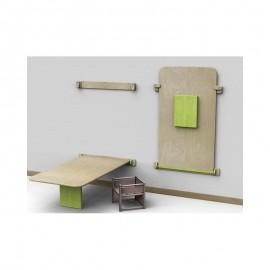 Tavolo rettangolare Fantasmino grande in legno multistrato 130 x 75 cm by TANGRAM di 2H arredi per asilo